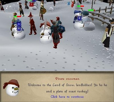 Christmas in Runescape