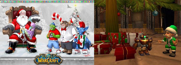 christmas in world of warcraft