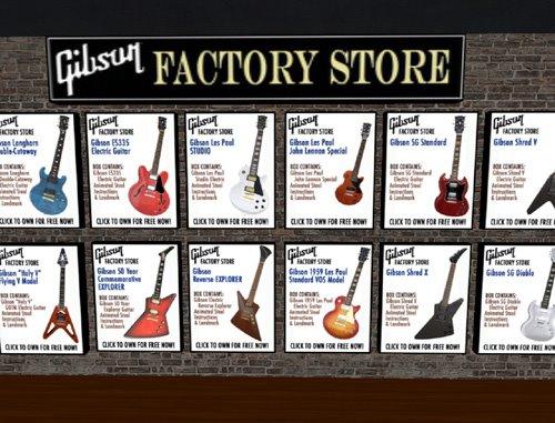MindBlizzard blog: Gibson Virtual Guitar Heroes